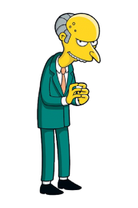 Señor Burns - Los Simpsons