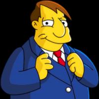 Alcalde Diamante - Los Simpsons