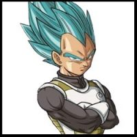 Vegeta - Dragón Ball