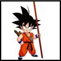 Son Goku niño (Laura Torres)