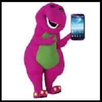 Barney - Habla por teléfono (Ruben Cerda)