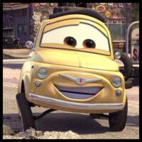 Luigi - Cars 2 (Salvador Najar)
