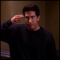 Ross Geller - Friends (Mario Castañeda)