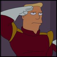Zapp Brannigan - Futurama (Mario Castañeda)